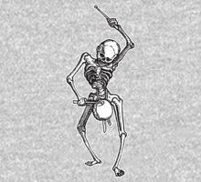 Skeleton Drummer One Piece - Long Sleeve