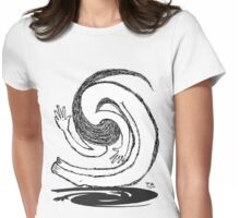 person spiral  Womens Fitted T-Shirt