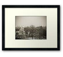 Robert E. Lee's armchair Framed Print