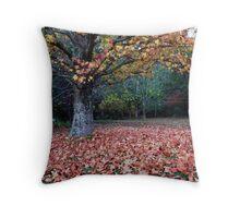 Lovely Leaves Throw Pillow