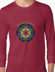 Stary Flower Long Sleeve T-Shirt
