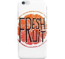 Orange fresh fruit illustration iPhone Case/Skin