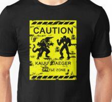 Kaiju / Jaeger Battle Zone Unisex T-Shirt