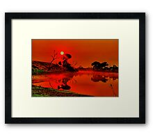 """Be Still"" Framed Print"