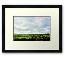 English Countryside Framed Print
