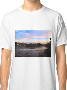 "Sunset at ""The Bend"" on Hull Creek  (1506018935VA) Classic T-Shirt"