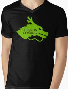 Shenron is Coming Mens V-Neck T-Shirt