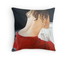 Red Velvet Throw Pillow