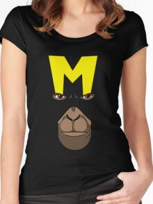 Dial M for Monkey Women's Fitted Scoop T-Shirt