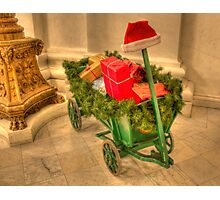Christmastime at the Pennsylvania State Capitol Photographic Print