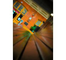 Downtown Train Photographic Print