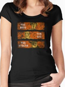 The Good, The Bad and The Gunslinger Cyborg Women's Fitted Scoop T-Shirt