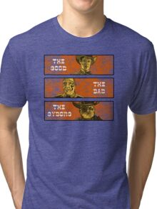 The Good, The Bad and The Gunslinger Cyborg Tri-blend T-Shirt