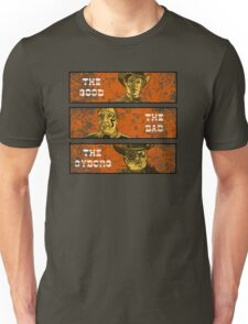 The Good, The Bad and The Gunslinger Cyborg Unisex T-Shirt