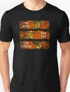 The Good, The Bad and The Gunslinger Cyborg T-Shirt