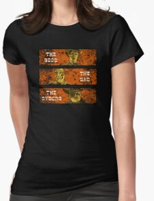 The Good, The Bad and The Gunslinger Cyborg Womens Fitted T-Shirt