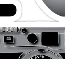 I love BW photography Sticker