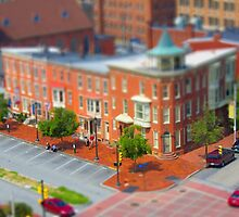 Corner of Second and State Streets by Shelley Neff