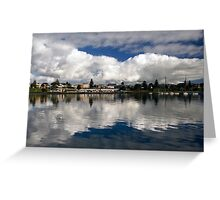 Portland Reflection Greeting Card