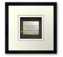 ' Agent 86 ' Framed Print