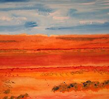Across Red Desert Road by Dhutchy