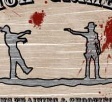 Rick Grime's Shooting Range Sticker