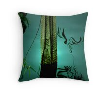 Water Buddha 1   (Limited Edition Print of 50) Throw Pillow