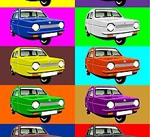 Reliant Robin by car2oonz