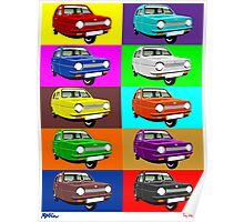 Reliant Robin Poster