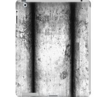 Brass Pillars (Black & White) iPad Case/Skin