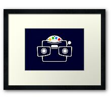 Viewmaster Colours Framed Print