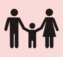 Parents child son Kids Tee