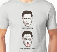 The Walken Dead - Before & After Edition (Vertical) Unisex T-Shirt
