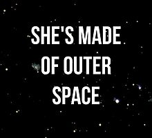 Made of Outer Space by lindsaygreth