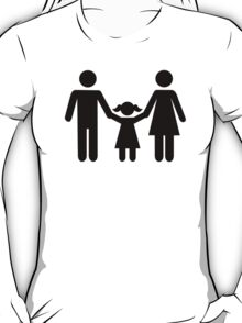 Parents child daughter T-Shirt