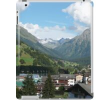 Splendid Valley, Klosters, Switzerland iPad Case/Skin