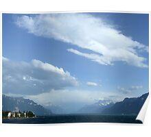Lake Geneva From Vevey Poster