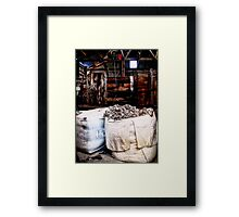The New Shed Framed Print