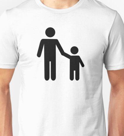 Father dad son boy Unisex T-Shirt