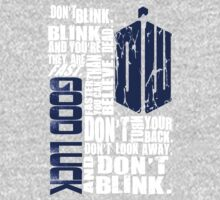 Don't Blink One Piece - Long Sleeve