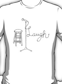 Stand Up Comedy Drawing. T-Shirt