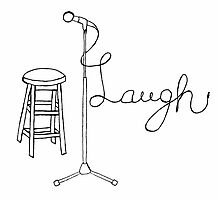 Stand Up Comedy Drawing. Photographic Print