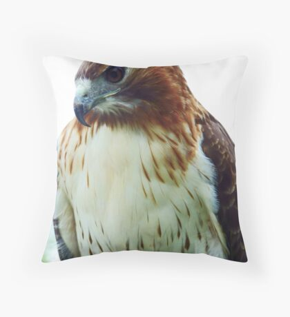 The Majestic Red Tail.. Throw Pillow