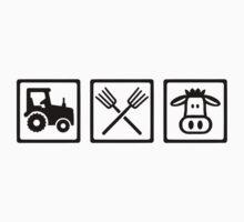 Farmer equipment One Piece - Short Sleeve