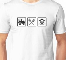 Farmer equipment Unisex T-Shirt