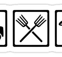 Farmer equipment Sticker
