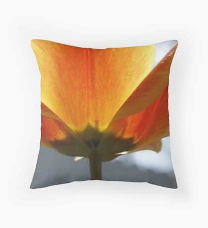 Fabulous Tulip Throw Pillow