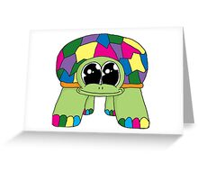 Phat Turtle Colour Greeting Card