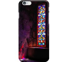 Mont Saint-Michel Stained Glass iPhone Case/Skin