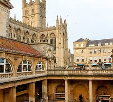 The Roman Baths, Bath by amhollingsworth